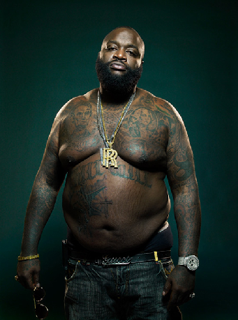 Rick Ross Blobs Up July Issue Of Xxl Magazine